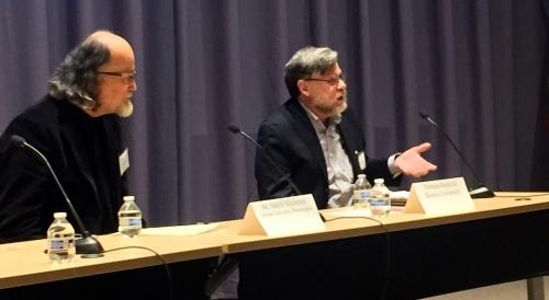 Professor M. Nazif Shahrani, Indiana University, Bloomington, and Professor Thomas Barfield, Boston University